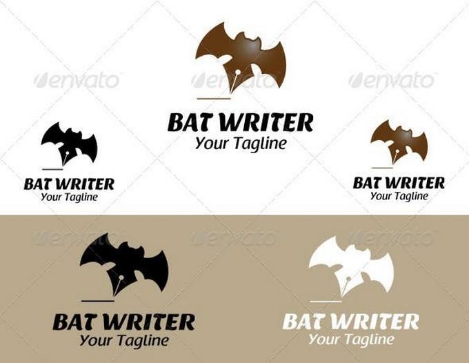 Bat Writer Logo