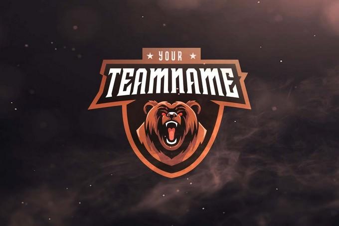 Bear Sport and Esports Logos