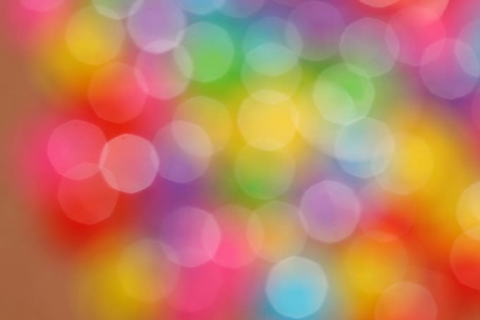 Bokeh Color Rainbow Colorful