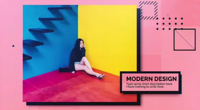 Bold– After Effects Slideshow Template