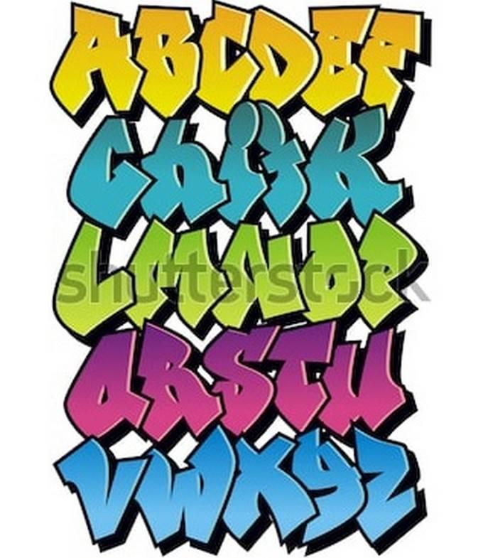 Bright Cartoon Comic Graffiti Font