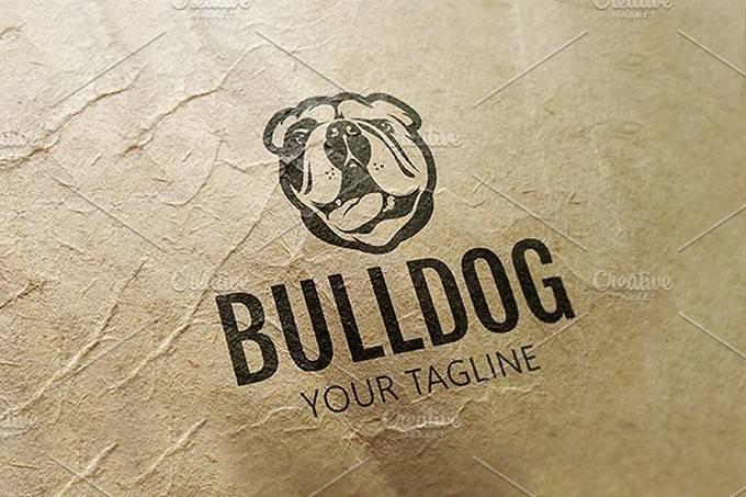 Bulldog Logo # 2