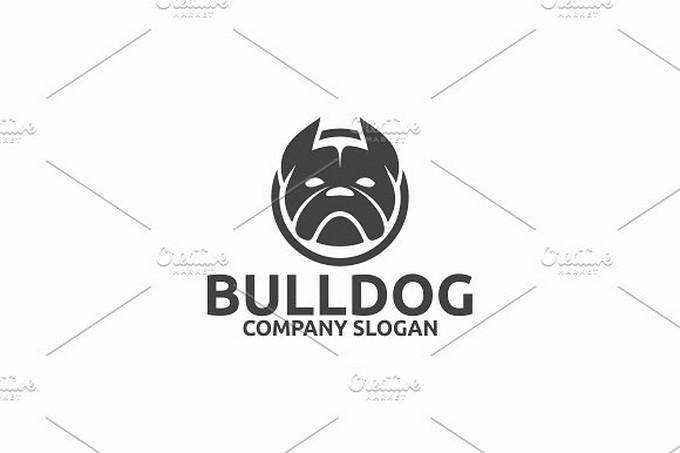 Bulldog Logo # 3