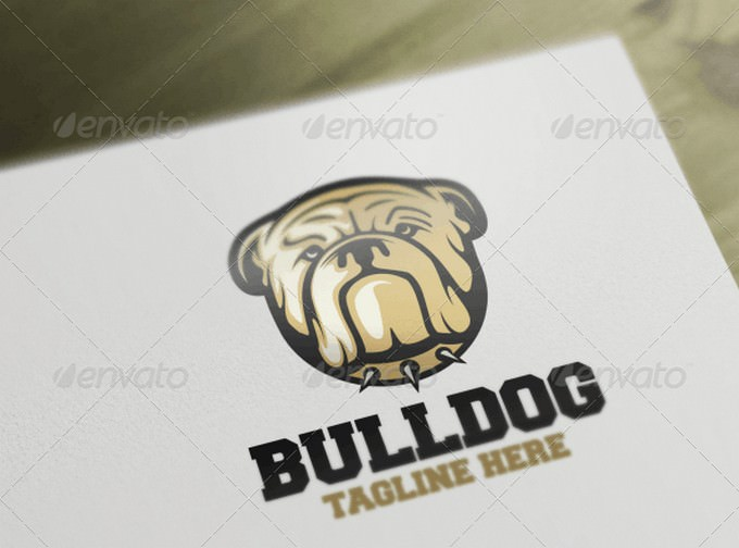 Bulldog Logo Template
