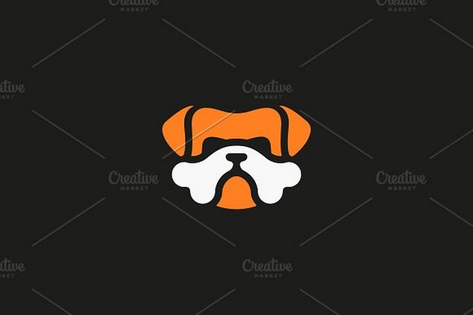 Bulldog Vector Logo Design