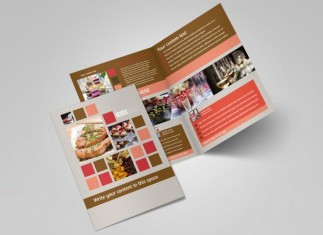 Catering & Event Planning Brochure Template