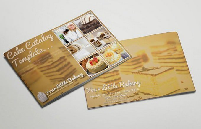 Catering Service Catalog or Brochure
