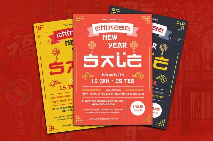 Chinese New Year Sale Flyer-10