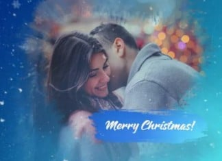 Christmas– After Effects Slideshow Template