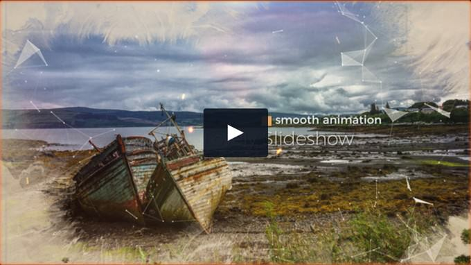 Cinematic Media Opener– After Effects Slideshow Template