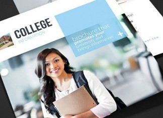 College - School Trifold Brochure