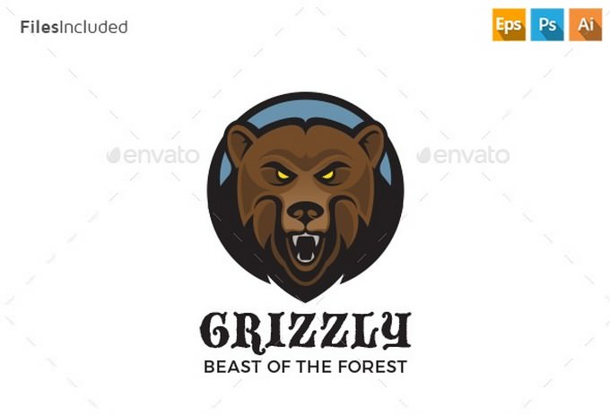 Crizzly Bear Logo