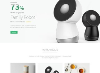 Crowdfunding StartupIdea WordPress Theme