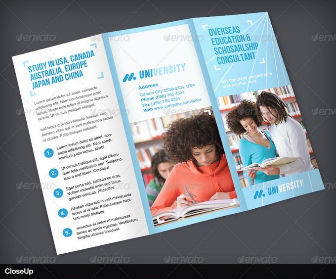 Education TriFold Brochure Volume 1