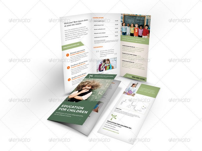 Education Trifold Brochure