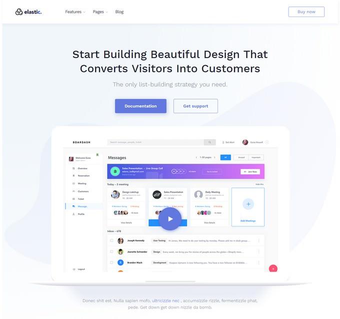 Elastik - MultiPurpose WordPress Theme