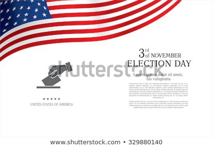Election Day Brochure Design Template