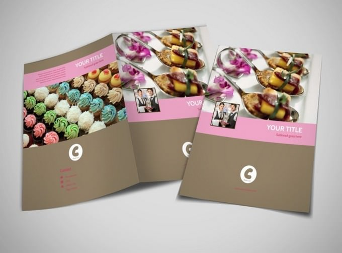 Event Catering Brochure Template