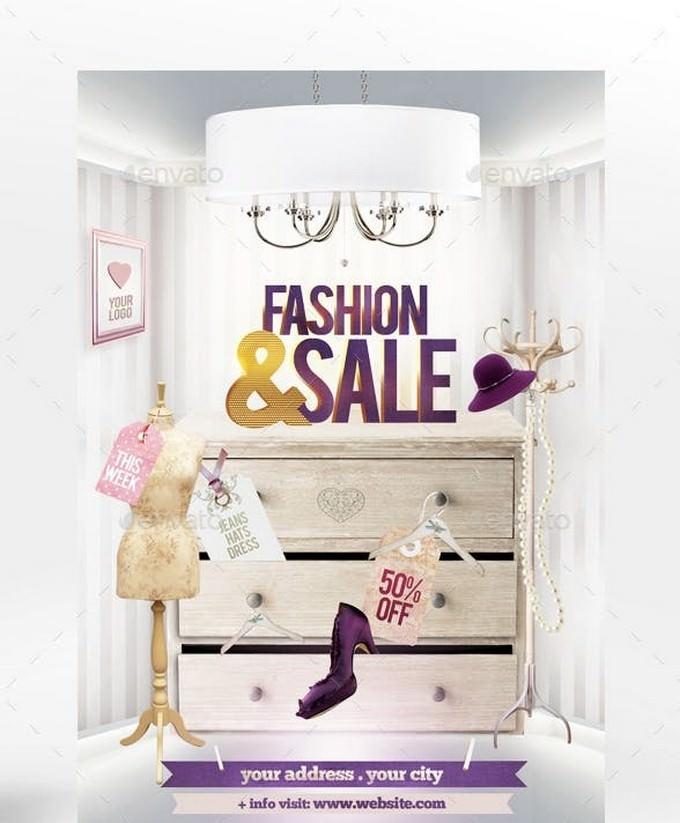 Fashion & Sale Flyer Template
