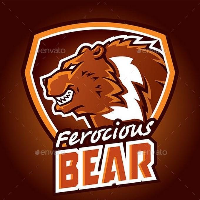 Ferocious Bear Logo