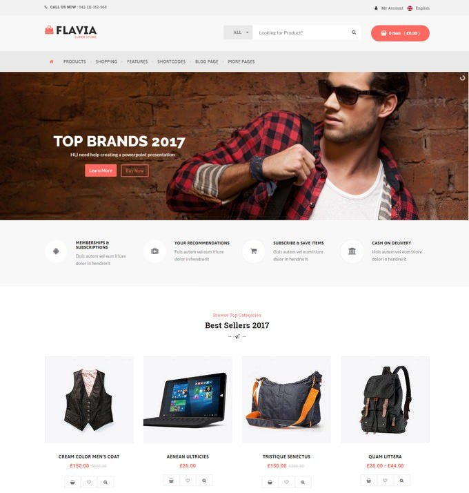Flavia - Responsive WooCommerce WordPress Theme
