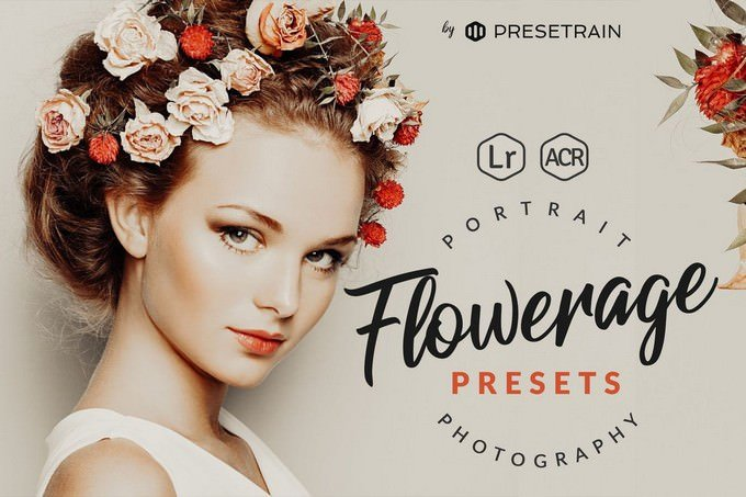 Flowerage Portrait Presets for Lightroom & ACR