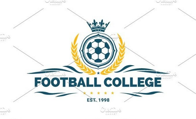 Football Collage Logo