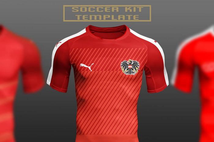 Free Soccer Kit PSD