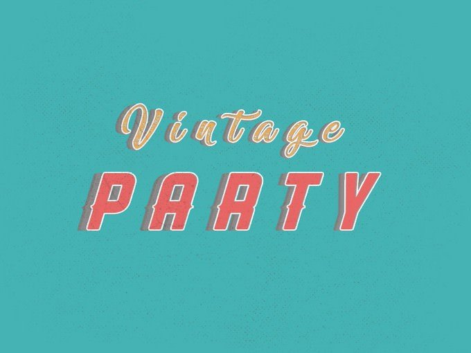 Vintage Style Text Free