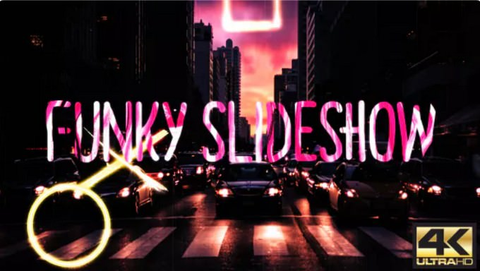 Funky– After Effects Slideshow Template