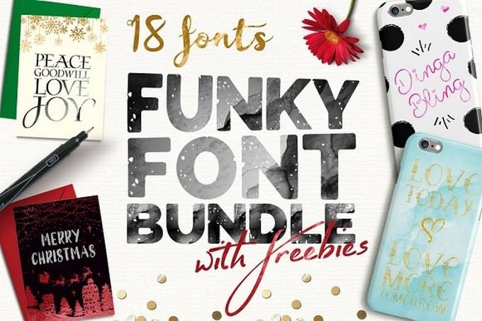 Funky Bundle Font