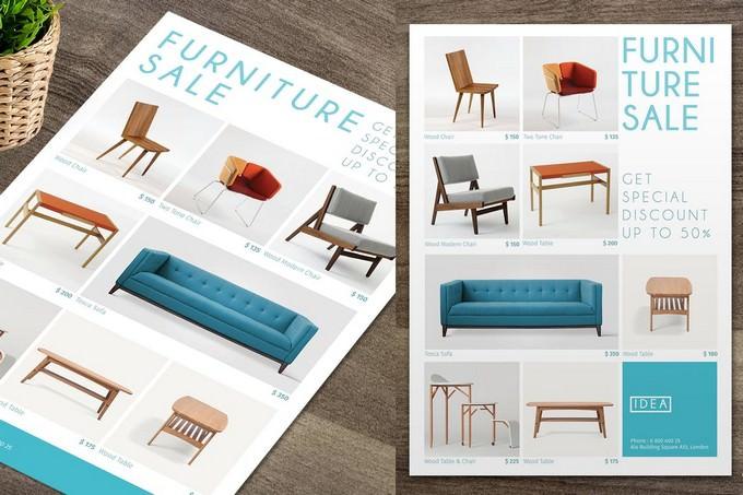 Furniture Sale Flyer