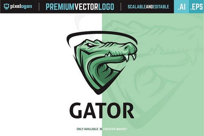 Gator Head Logo