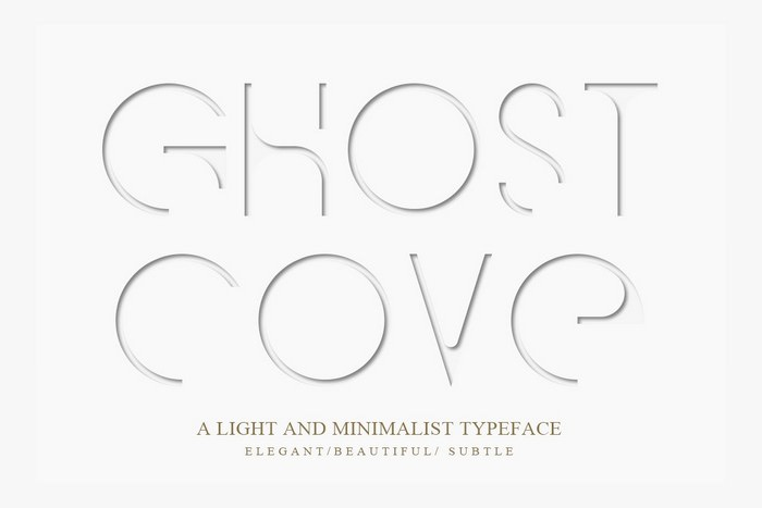 Ghost Cove Font