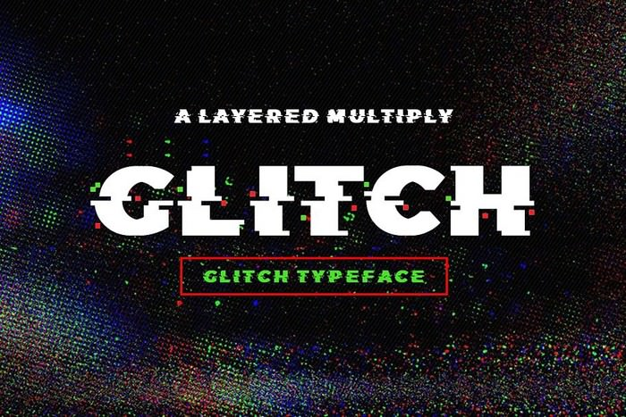 Best Fonts 2020.30 Best Glitch Fonts Free Premium 2020 Templatefor