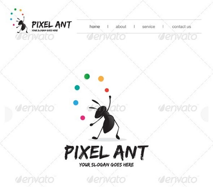 Graphic Ant Logo