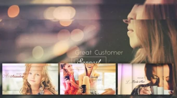 Great Customer – After Effects Slideshow Template