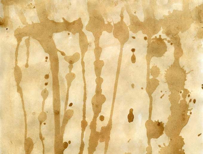 Grunge Stained Paper Texture