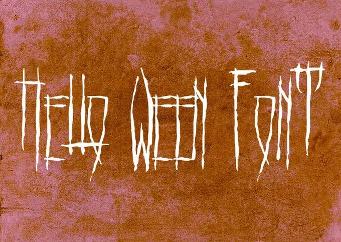 Hello Ween Font