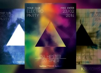 Hipster Party Flyer Template