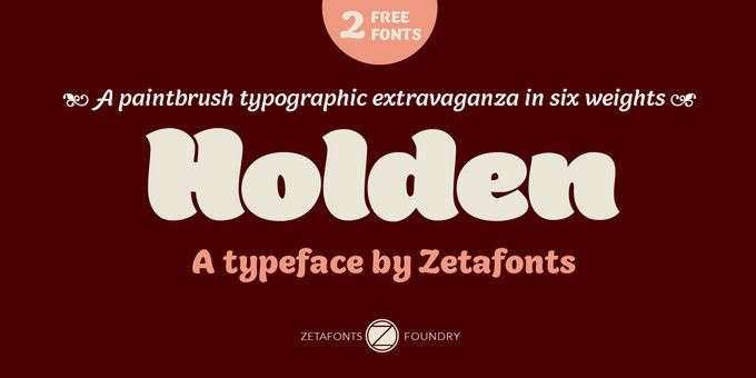Holden Trial Font Family