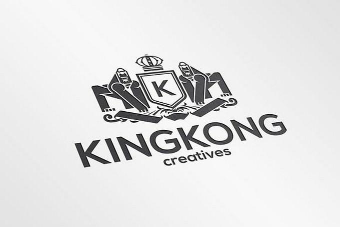 King Kong Crest Accounting Logo