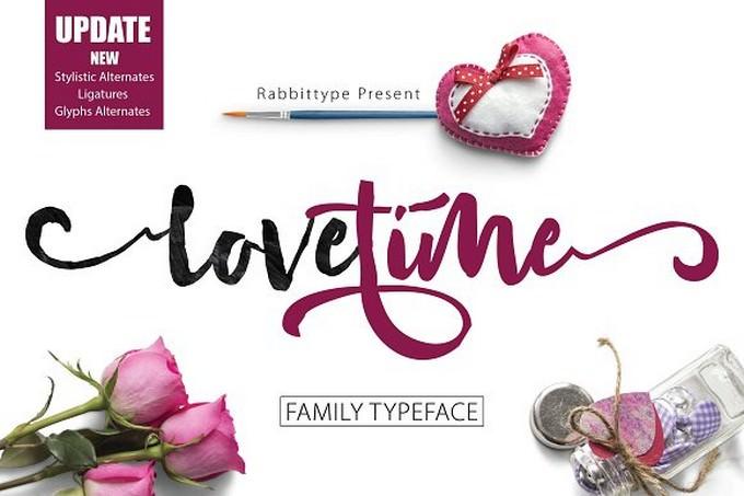 LOVE TIME Script Family