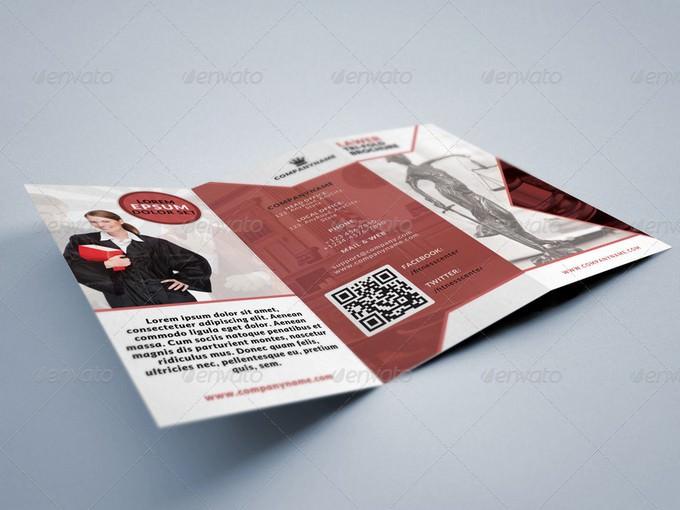Lawer Legal Consultancy Tri-fold Brochure