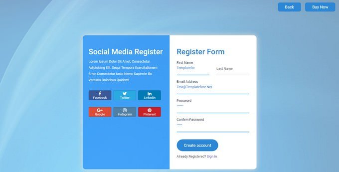 Login with Social Account using PHP