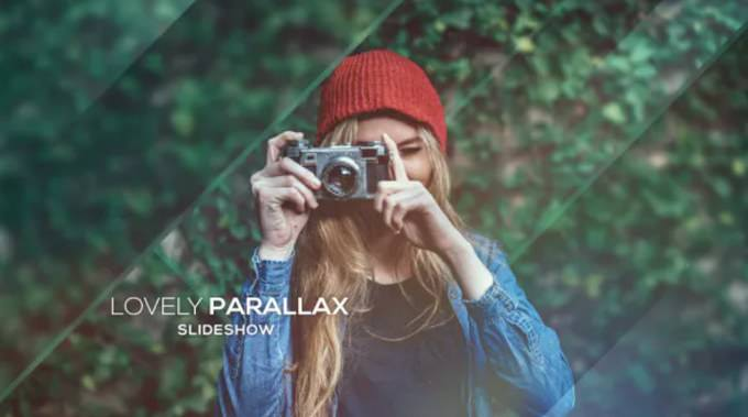 Lovely Parallax– After Effects Slideshow Template