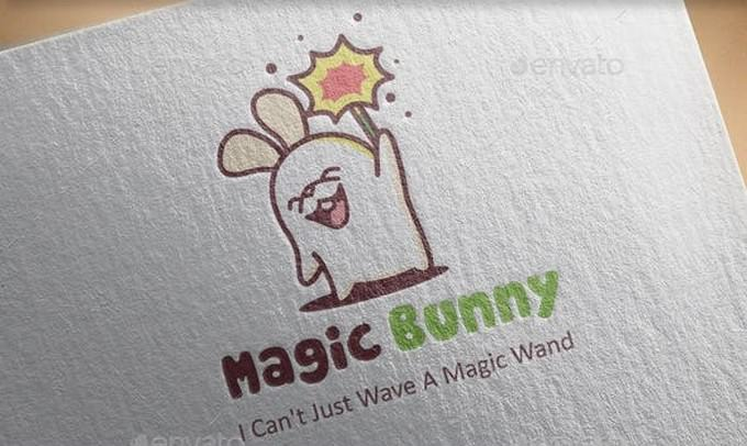 Magic Bunny Logo Design