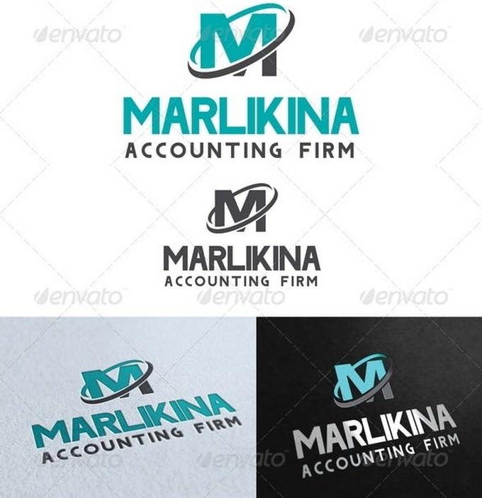 Marlikina Accounting Firm Logo Template