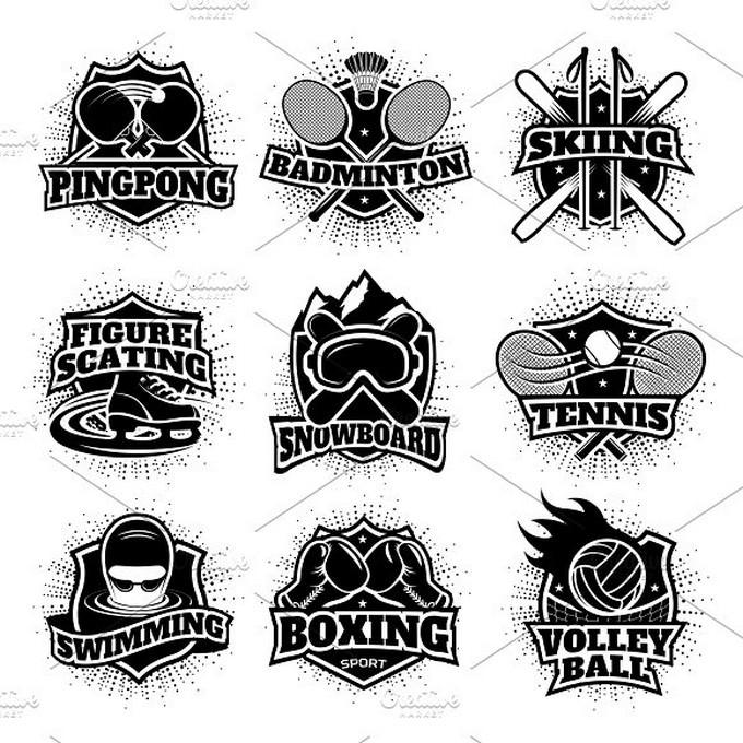 Monochrome Sport Logo