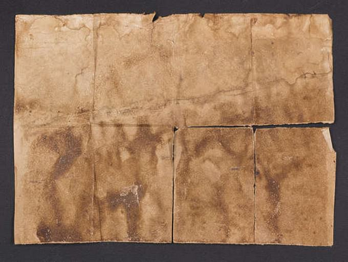 Paper Stained Texture # 3